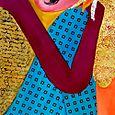 Textured Lady, III